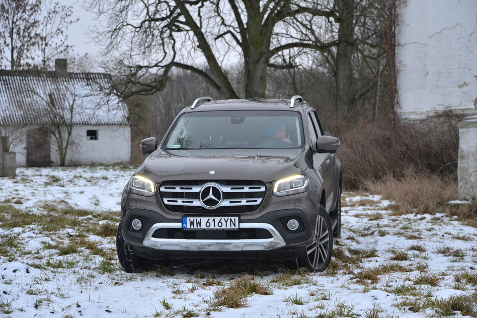 Mercedes X 350 d 4MATIC