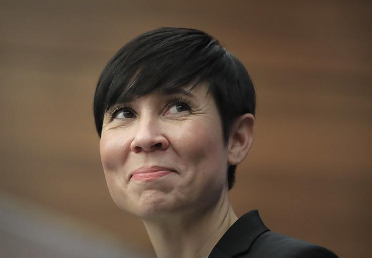 Ine Eriksen foto Tanjug AP