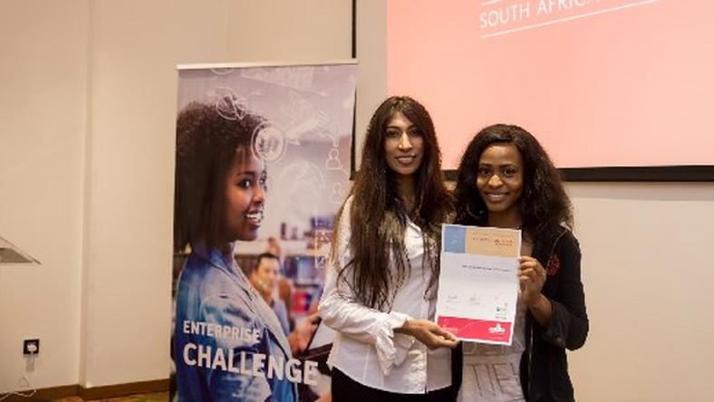 Keturah Ovio-Onoweya, founder of Qeturah.com, one of the overall winners of the British Council Enterprise Challenge 2016