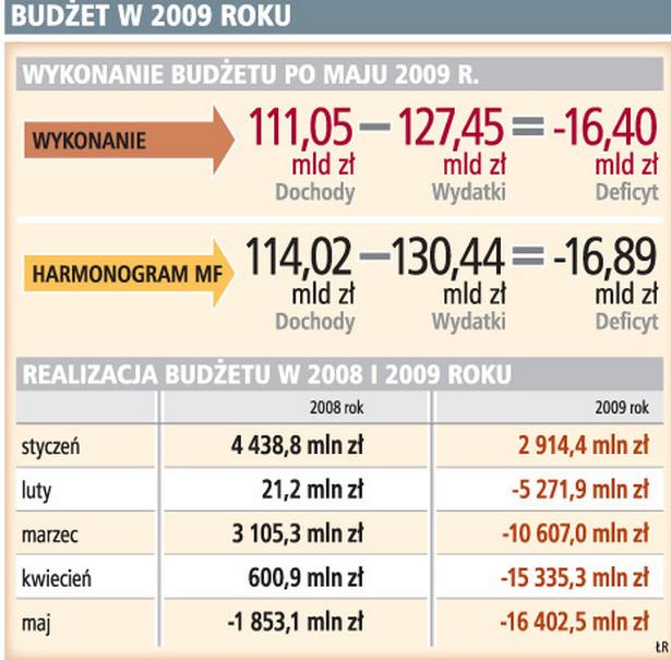 Budżet w 2009 roku
