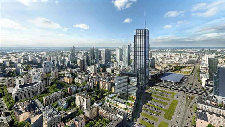 Najwyższy Biurowiec W Europie środkowej Powstaje W Warszawie Wiemy