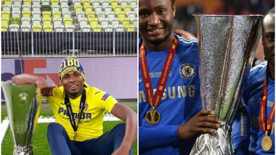 Samuel Chukwueze and other Nigerian players who have won the Europa League title