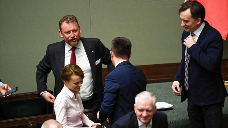 Posiedzenie Sejmu dot. ustawy o koronawirusie