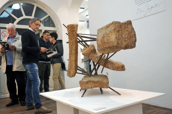 U Užicu prikazano 30-ak radova iz legata poznate umetnice