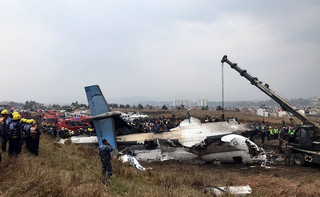 Nepal: Co najmniej 50 zabitych w katastrofie samolotu w Katmandu
