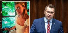 Minister Czarnek skomentował pikantne zdjęcia żony kolegi z rządu