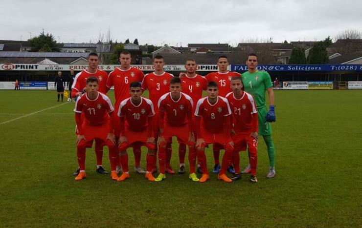 fudbalska omladinska reprezentacija srbije
