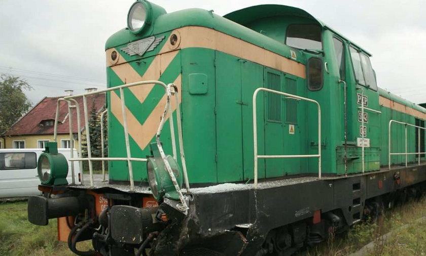 Kradł paliwo z lokomotywy