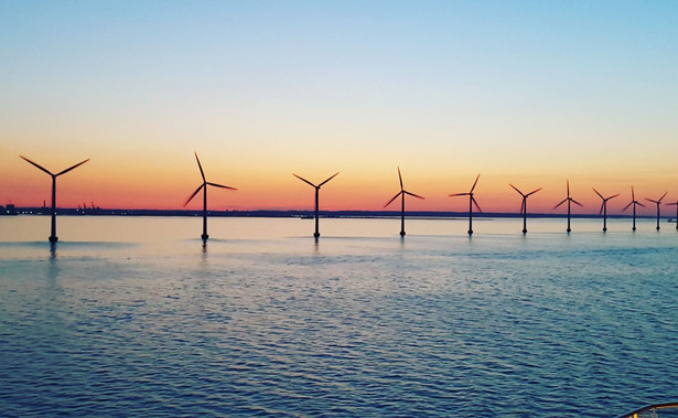 Farma wiatrowa na morzu
