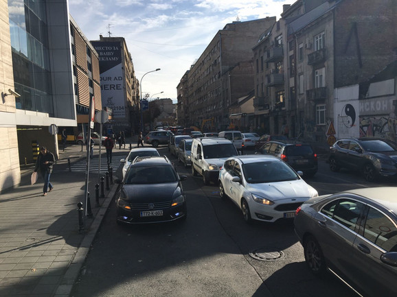 Blokirane ulice zbog protesta sindikata