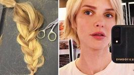 Magdalena Mielcarz już żałuje ścięcia włosów? Teraz pozuje w peruce