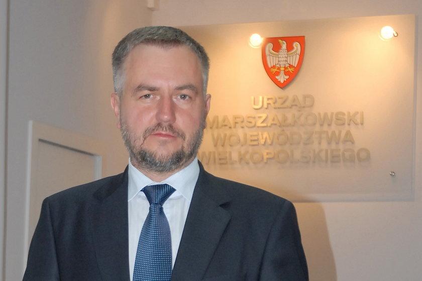 Marszałek województwa wielkopolskiego Marek Woźniak