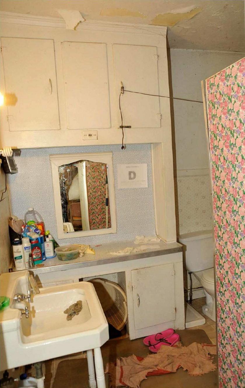 Łazienka w domu Castro
