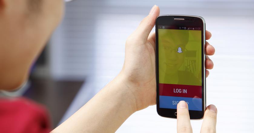 Ze Snapchata korzysta 150 mln użytkowników