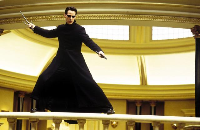"""Neo iz filmskog serijala """"Matriks"""""""