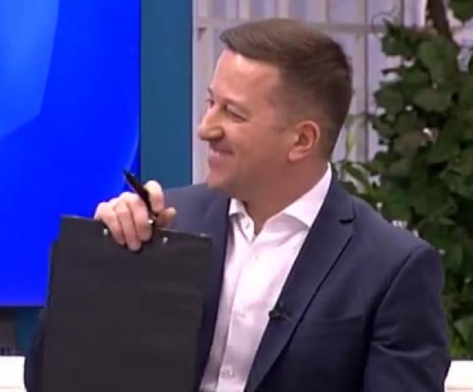 Srđan Predojević na malim ekranima