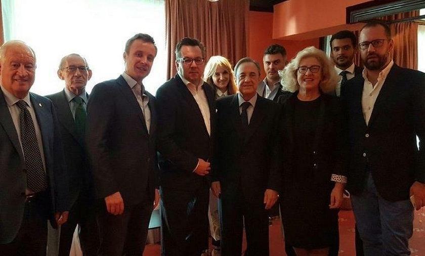 Polska delegacja u prezydenta Realu