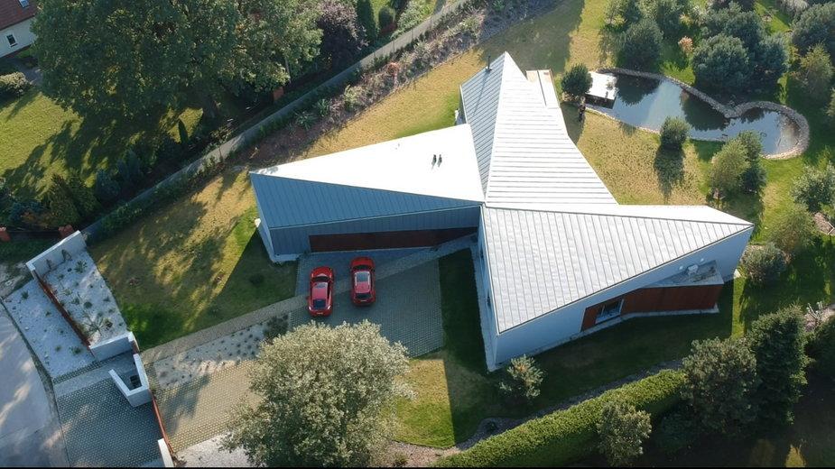 Dom w Łodzi o bardzo nietypowym kształcie