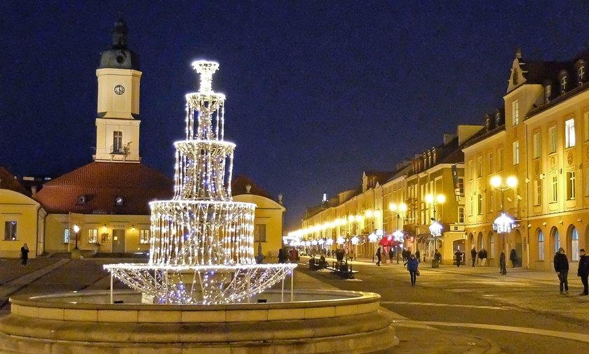 Świąteczne iluminacje w Białymstoku