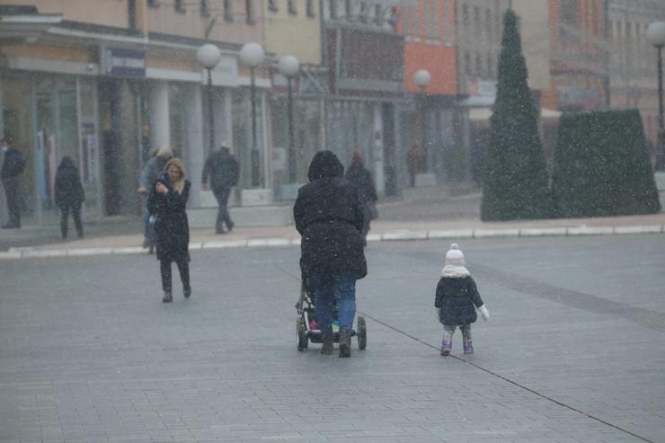 Banjaluka - vreme -  sneg