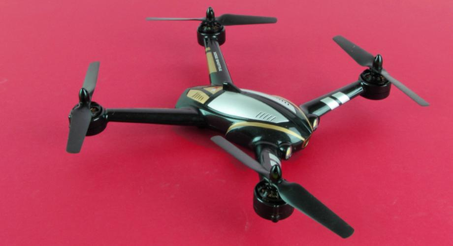 Action-Quadrocopter X252 Shuttle mit FPV-Monitor im Test