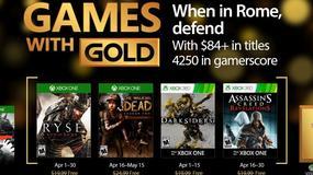 Xbox Games with Gold - jest już oficjalna zapowiedź kwietniowej oferty