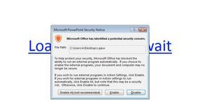 Zusy - nowe malware ukryte w PowerPoincie