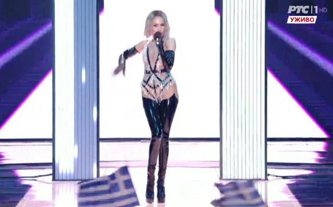 Predstavnica Kipra na Evroviziji