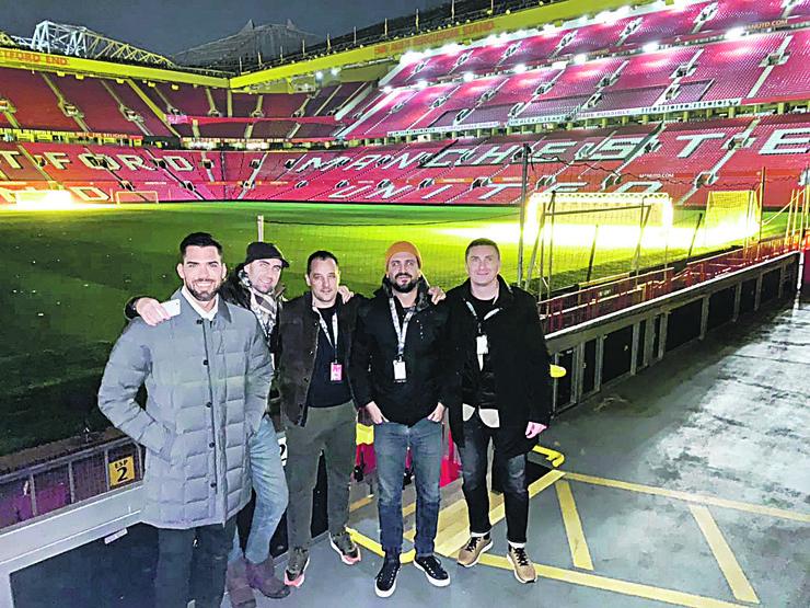 FK Mančester junajted reportaža