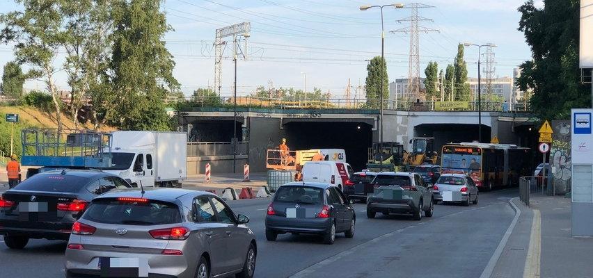 Zmiana w tunelu przy Dworcu Zachodnim. Kierowcy muszą uzbroić w cierpliwość