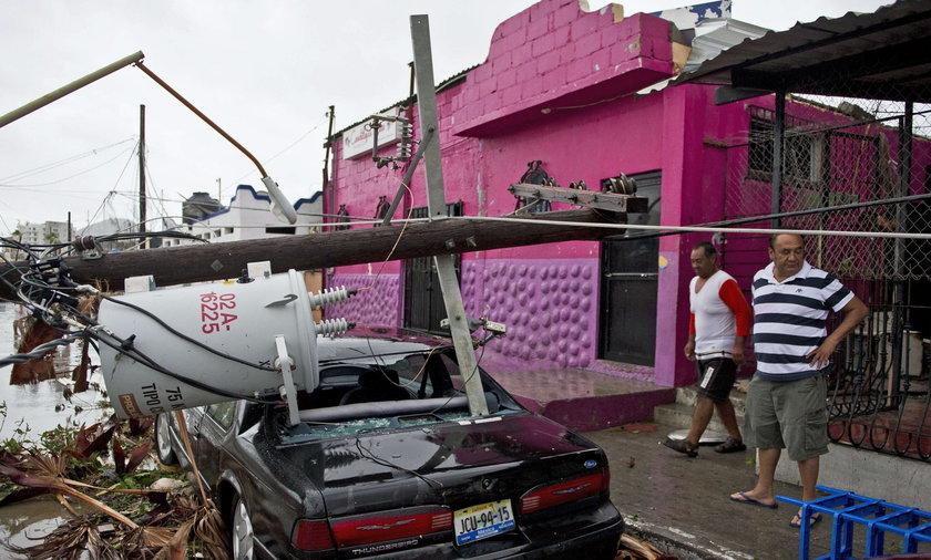 huragan w meksyku