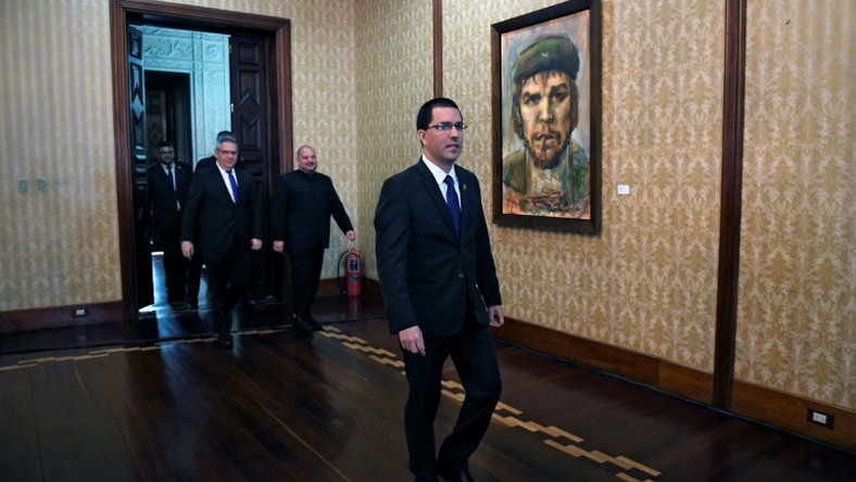 Foreign Minister Jorge Arreaza is a key member of the Maduro government's negotiating team