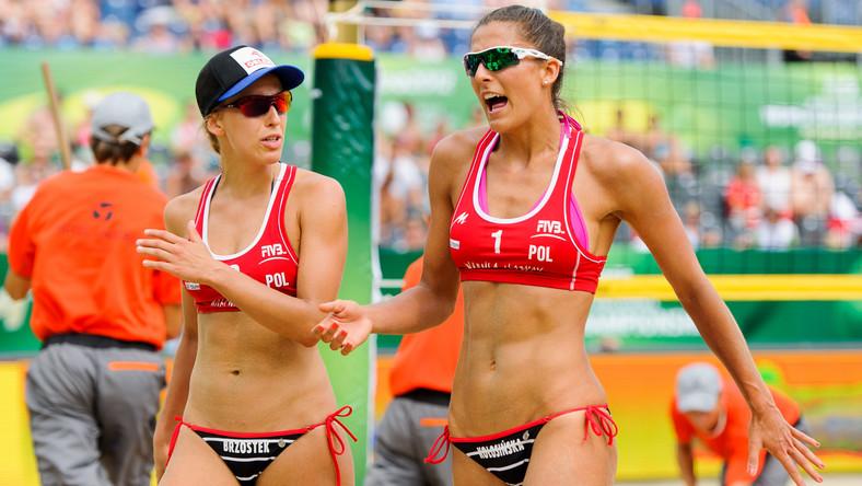 Monika Brzostek i Kinga Kołosińska