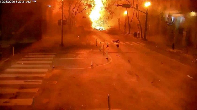 Wybuch w Nashville