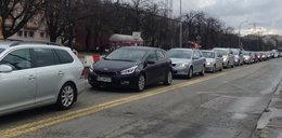 Kierowcy utknęli na Woronicza