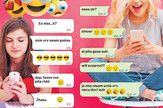 grafika onlajn jezik mladic foto RAS