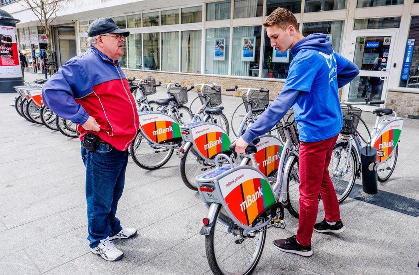 Rower miejski w Łodzi