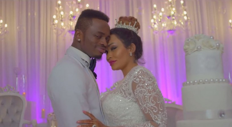 Diamond with Zari Hassan. Zari brags out after receiving gifts from Baby Daddy Diamond