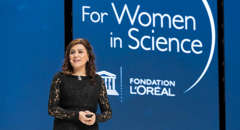 The L'Oréal-UNESCO For Women in Science International Awards.