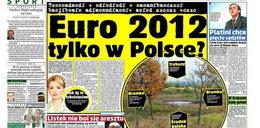 Euro 2012 tylko w Polsce?