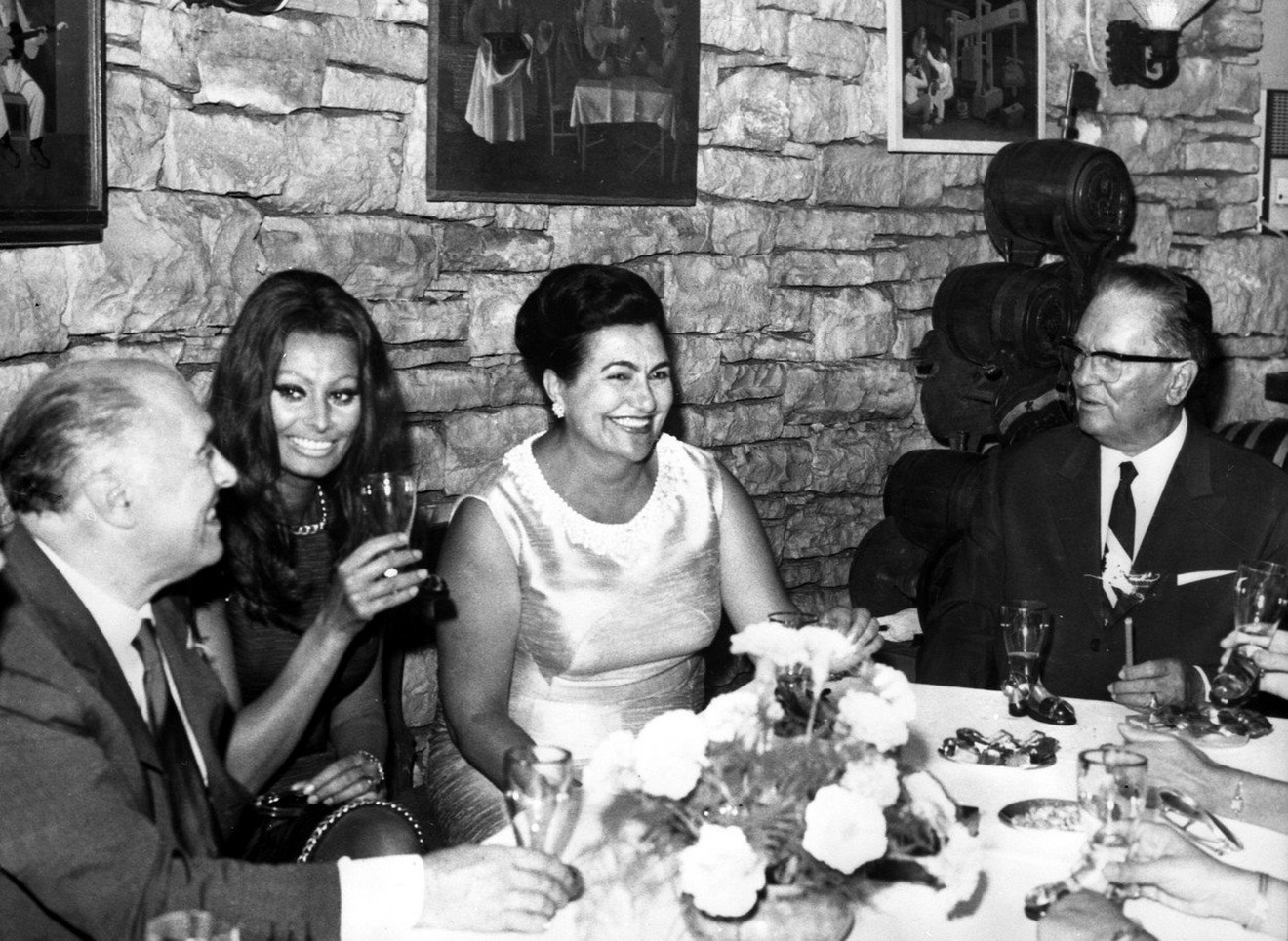 Tito, Jovanka i Sofija Loren