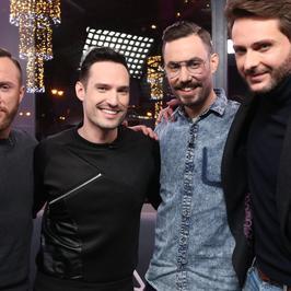 """Tre Voci na planie programu """"Gwiazdy Cejrowskiego"""". Który jest najprzystojniejszy?"""