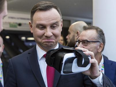 Podczas jubileuszu spółki Dragon Poland prezydent Duda powiedział, że polski biznes musi być coraz bardziej innowacyjny i konkurencyjny