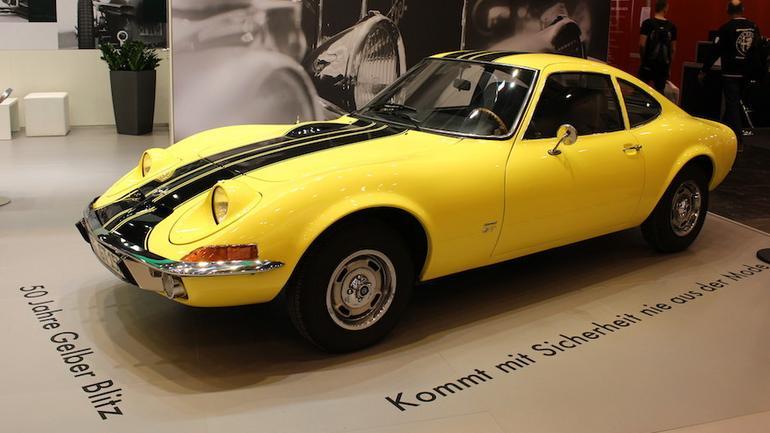 Opel GT – 50-lecie modelu