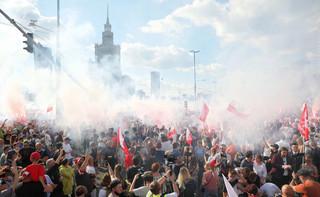 Są pierwsze zawiadomienia ws. Marszu Powstania Warszawskiego. 11 osób zostało zatrzymanych