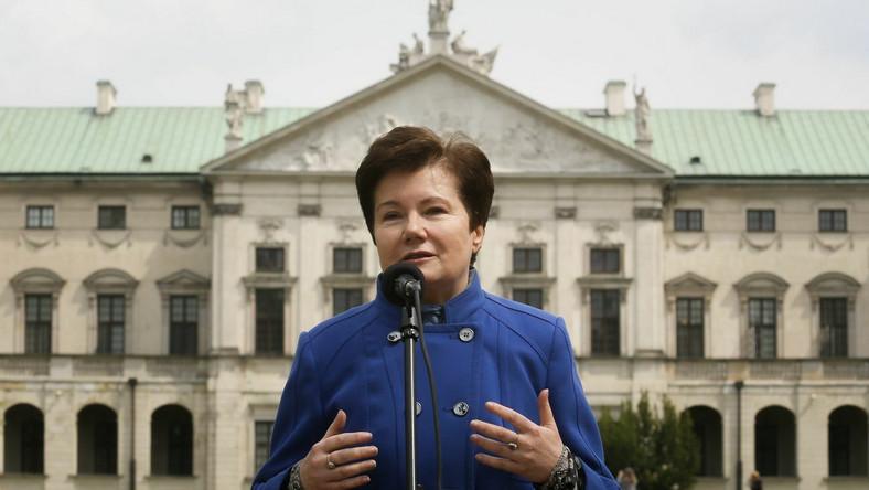 Gronkiewicz-Waltz ogłasza: Powalczę o trzecią kadencję