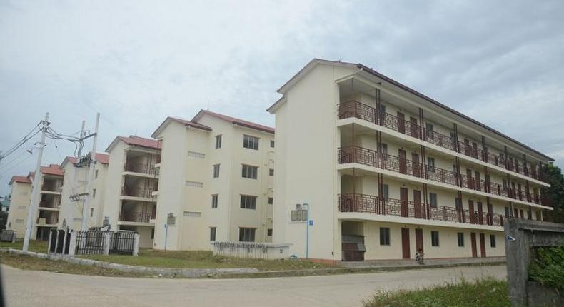 File image of low cost houses