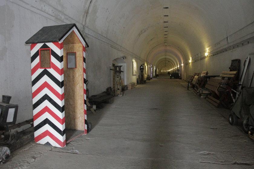 Schron kolejowy w Stępinie