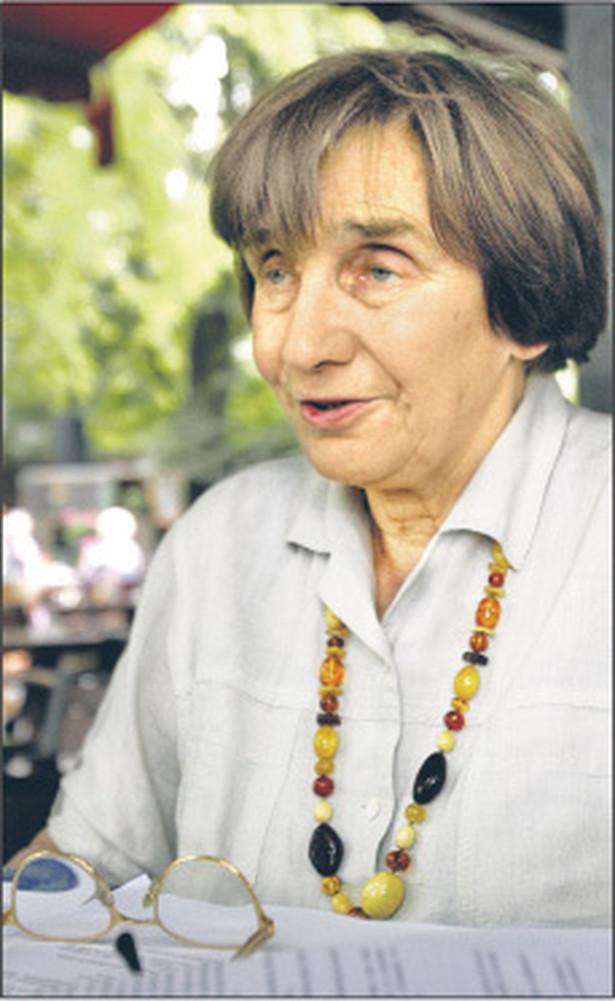 Teresa Romer, sędzia Sądu Najwyższego w stanie spoczynku Fot. Wojciech Górski