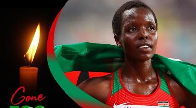 Eldoret at a standstill as athletes protest Agnes Tirop's murder [Photos]